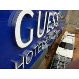 letreiro para hotel preços Socorro