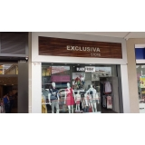 letreiro para nome de loja preços Bacaetava