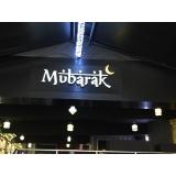 letreiro para restaurante Murundu