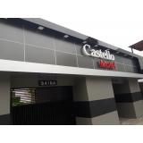 letreiros para fachada de motel Araçoiabinha