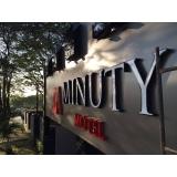 letreiros para hotel Água Bonita