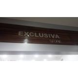 letreiros para nome de loja Santa Rita do Ribeira