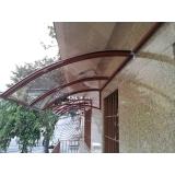loja de toldo policarbonato transparente Praia Grande