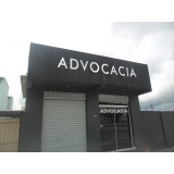 onde fazer letreiro para advogados Paraisolândia