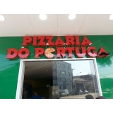 orçamento de letreiro para restaurante Santo Antônio da Posse