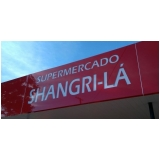 placa para fachada de loja acm litoral paulista