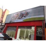 quanto custa fachada de loja em lona Guarujá