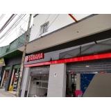 quanto custa fachada de loja moderna Bauru
