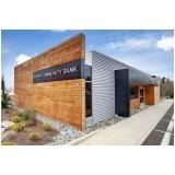 revestimento fachada em madeira orçamento Água Bonita
