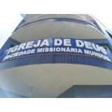 revestimento para fachada de igreja orçamento Araçatuba