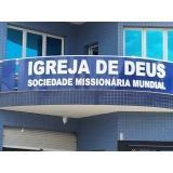 revestimento para fachada de igreja Araras