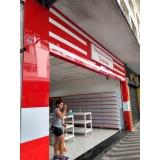 revestimentos para fachada de loja Marapoama