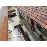 toldo policarbonato para janela Batatuba
