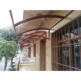 toldos policarbonato para janela Jaboticabal