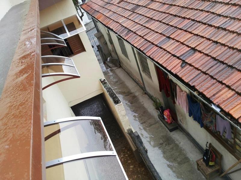 Toldo Policarbonato para Janela Paiol Grande - Toldo Policarbonato Transparente